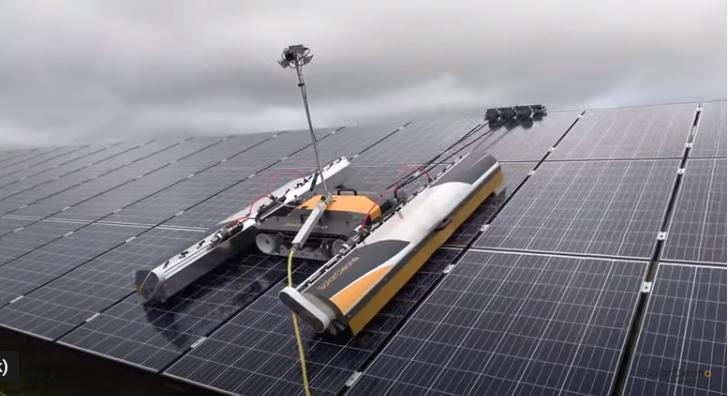 Solarcleano F1: chổi loại 2.2m