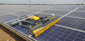 Robot solarcleano